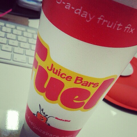 Fuel Juice Bar – Buchanan Galleries – Highly Recommended