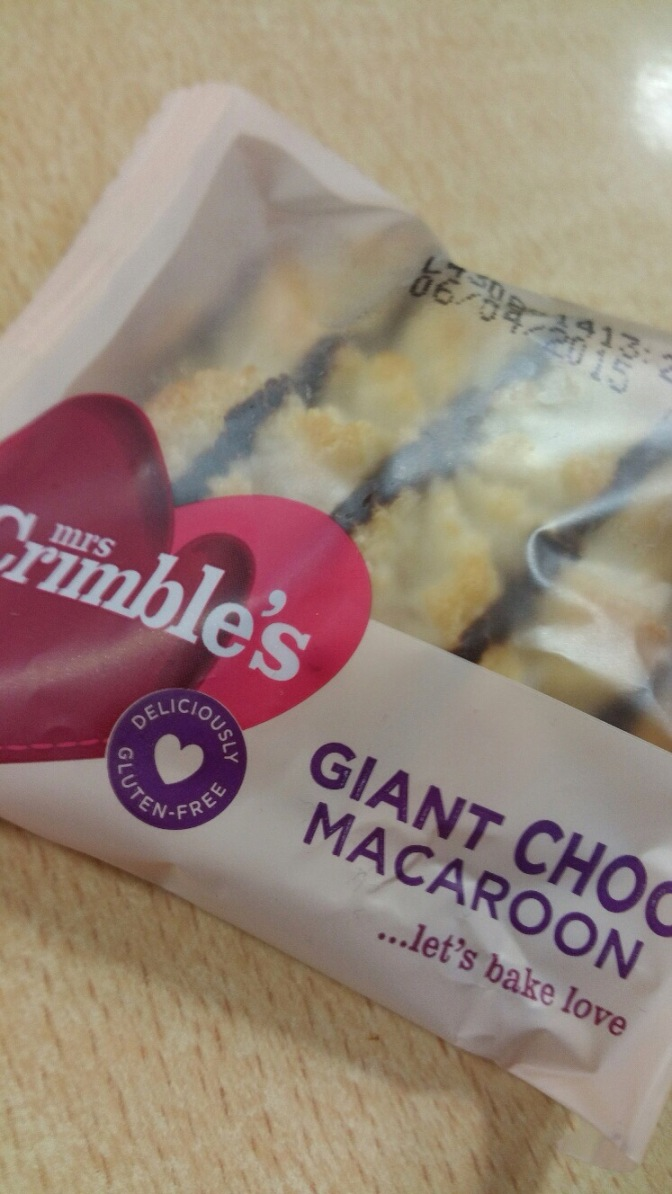 Review – Crimbles Giant Coconut Macaroon